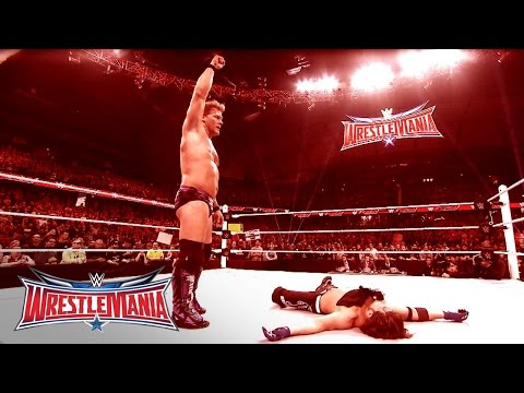 The Road To Wrestlemania: Chris Jericho Vs. Aj Styles