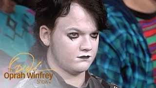 Goth Teen Shuts Down Haters Who Think He's