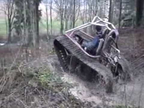 vehicle - new tracked vehicle test.