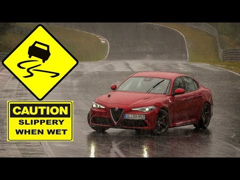 Nordschleife in Extreme Wet Conditions - Highlights, Slides & Spins - 23 09 2018 TF Nürburgring