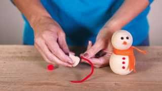 Add a little holiday cheer to your end tables with these adorable snowman crafts! Simple craft supplies you most likely already have on hand along with a few...