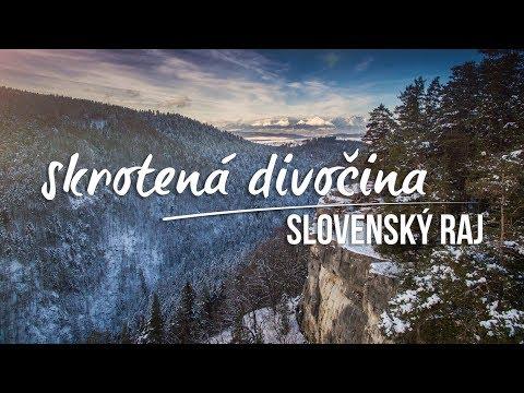 Zábery, ktoré dokážu pohladiť dušu: Krásne zimné VIDEO zo Slovenského raja