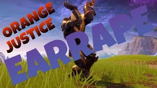 thanos doing the orange justice while the default dance earrape music is playing