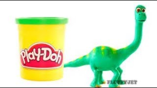 Good Dinosaur Stop Motion video for children