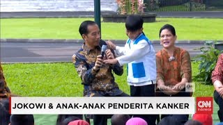 Video Anak Nekat, Berani Tepuk Bahu Presiden Joko Widodo; Anak Penderita Kanker dan Presiden Jokowi Piknik MP3, 3GP, MP4, WEBM, AVI, FLV Oktober 2018