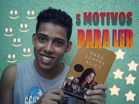 """5 MOTIVOS PARA LER """"PARA SEMPRE ALICE"""" -Readbookz"""