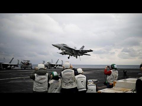 Επίδειξη ισχύος από την Ουάσιγκτον – Το USS Carl Vinson πλέει προς την κορεατική χερσόνησο