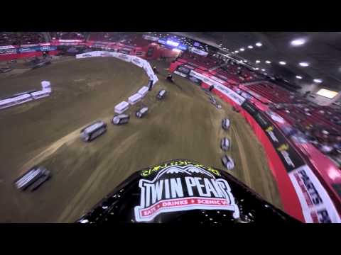 jacob hayes vs kyle regal amsoil arena cross las vegas!