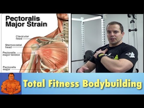 Pulled Chest Muscle - rehab exercises to speed recovery