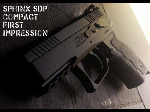 SPHINX 9mm SDP Compact First Impression