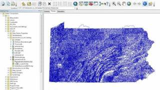 How to use ArcCatalog demo - ArcGIS 10 - GT-101 - Washington College