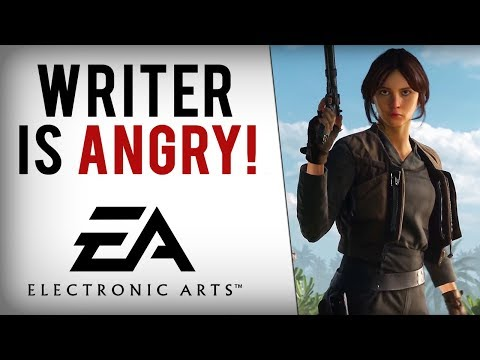 Rogue One Writer SLAMS EA  Says Disney Must Take Star Wars License Away From Them!