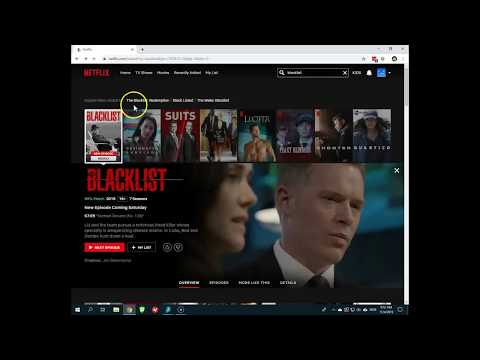 How to watch The Blacklist season 7 on Netflix?