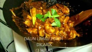 resepi ayam paprik Video