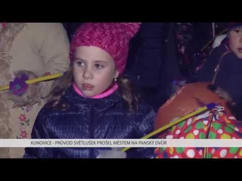 TVS: Kunovice - Světlušky prošly městem