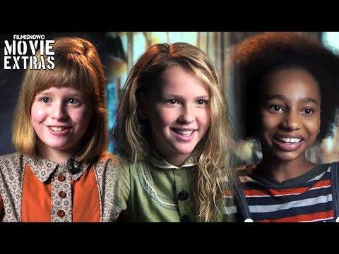 Annabelle: Creation   On-set visit with Lulu Wilson, Talitha Bateman & Tayler Buck