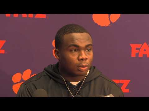 Grady Jarrett Interview 12/11/2013 video.
