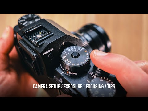 Use These STREET PHOTOGRAPHY SETTINGS (Fujifilm XT4 2021 Update)