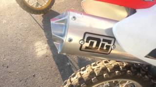 8. 2004 Honda CRF150F DG Pipe Start-up