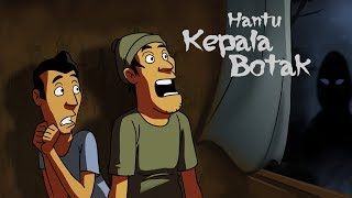 Video Kartun Lucu Horor - Hantu Kepala Botak - Funny Cartoon MP3, 3GP, MP4, WEBM, AVI, FLV Maret 2018