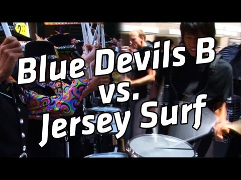 blue devils - Who do you think won? http://www.Drumlinebattle.com.