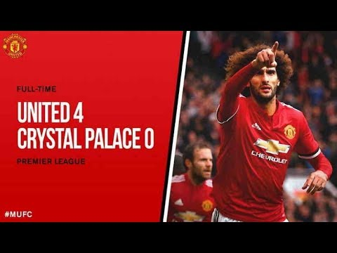 Manchester United vs Crystal Palace 4-0 - All Goals & Highlights (30/9/3017)