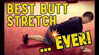 【臀部のケア】お尻の筋肉を自分でしっかりと伸ばすストレッチング!