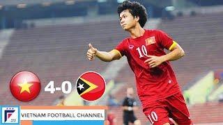 19/7 U23 Việt Nam - U23 Timor Leste: Thử thách đầu tiên #Xuân Trường và #Văn Toàn từng lọt vào VCK U23 châu Á 2016...