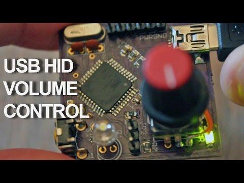 USB Volume HID Final Board