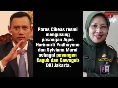 Demokrat Sepakat Mengusung Pasangan Agus Harimurti Yudhoyono-Sylviana Murni