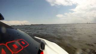 4. Go Pro 960 HD Onboard 2010 Sea Doo Wake Pro 215 Getting Some AIR