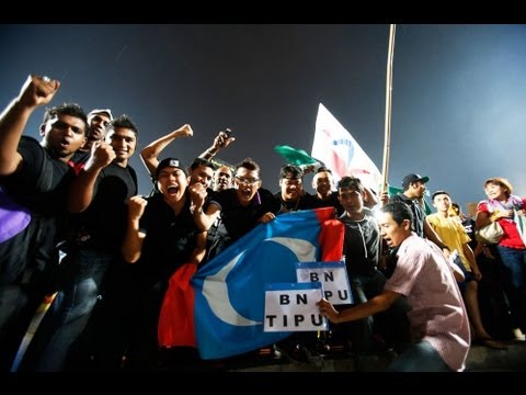 Malaysian - Malaysia's opposition coalition is calling foul after losing to the ruling party in a general election which saw the highest voter turnout in the nation's hi...