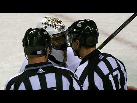 Luongo in ref's face after bad goal, overturned after coach's challenge