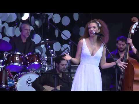 Vanessa - Show da cantora Vanessa da Mata em homenagem a Tom Jobim dentro do projeto Nivea VIVA, no Parque da Cidade Dona Sarah Kubitschek em Brasília.