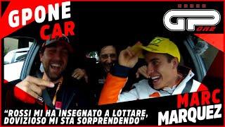 Video Marc Marquez nella GPOnecar: Rossi mi ha insegnato a lottare ma Dovizioso mi sta sorprendendo MP3, 3GP, MP4, WEBM, AVI, FLV November 2017