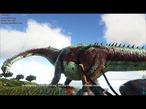 ARK: Survival Evolved - Đi săn khủng long cùng giáo sư Móc-kiu-ra-đo =))