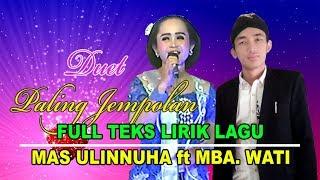 Video Langgam Wuyung Labas Nyidamsari ~ Mas Ulinnuha ft Mba Wati (Full Nyampleng) MP3, 3GP, MP4, WEBM, AVI, FLV September 2019