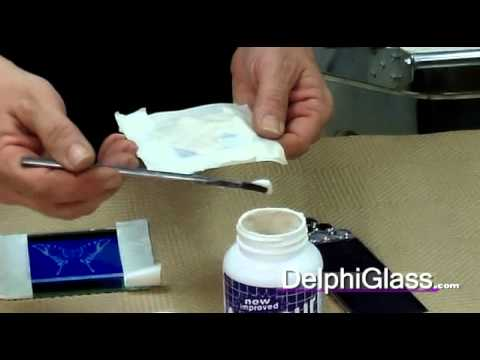 Using Armour Etching Cream for Glass Projects