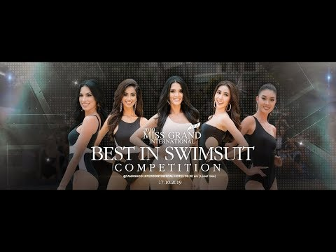 Miss Grand International 2019 Top 11 Best In Swimsuit Competition
