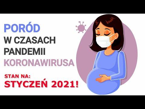 Poród w czasie pandemii - stan na styczeń 2021.