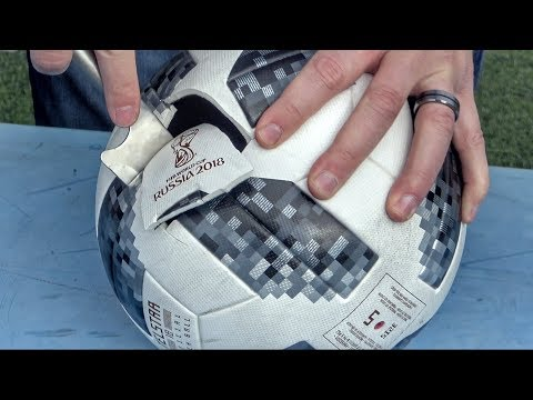 Cutting Open FIFA World Cup Soccer Balls From 1930 1970 and 2018 to See What  s