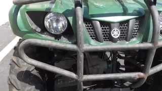 8. 2011 Yamaha Grizzly 350 Auto 4x4