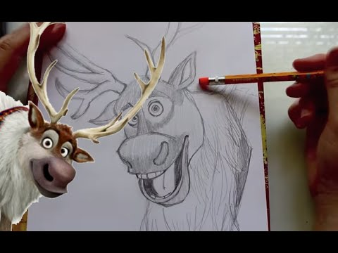 how to draw sven