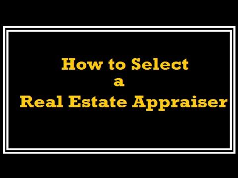 How to Select a Real Estate Appraiser – A Quality Appraisal – 503.781.5646