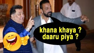 Sanjay Dutt's Funny Drunk Antics Outside His House Will Make You Go ROLF