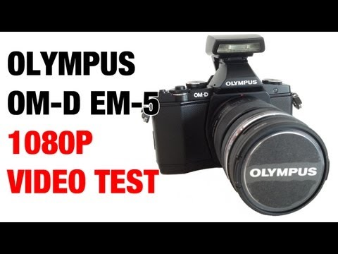 Olympus OM-D EM-5 1080P HD Video Test