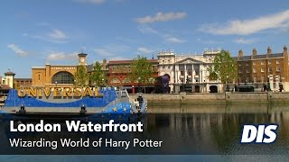 Diagon Alley London Waterfront and Hogsmeade Station Overview
