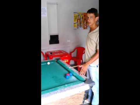 Aula de Sinuca com Bruno de Calçado-PE parte1