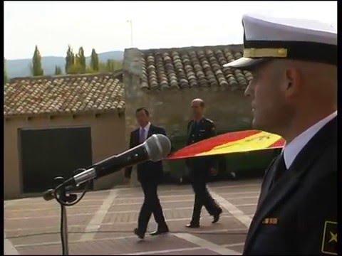 Acto de homenaje a la Bandera en Arcas