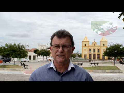 Prefeito do São José dos Cordeiros deseja a todos um Feliz 2004